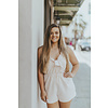 Everly KNOT FRONT SLVLESS ROMPER