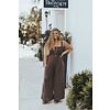 BY Together STRAPPY SMOCKED TOP JUMPSUIT