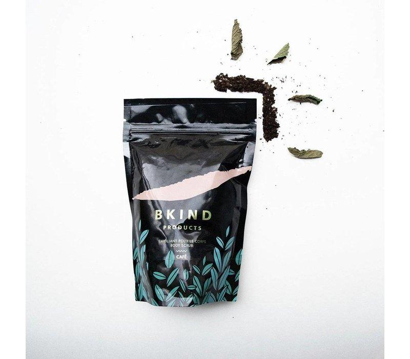 Coffee and peppermint body scrub