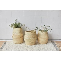 Handmade natural Basket VIE