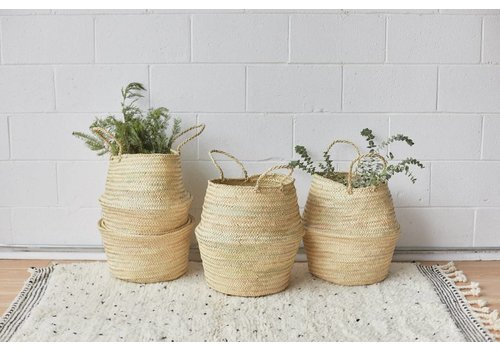 Handmade natural Basket VIE