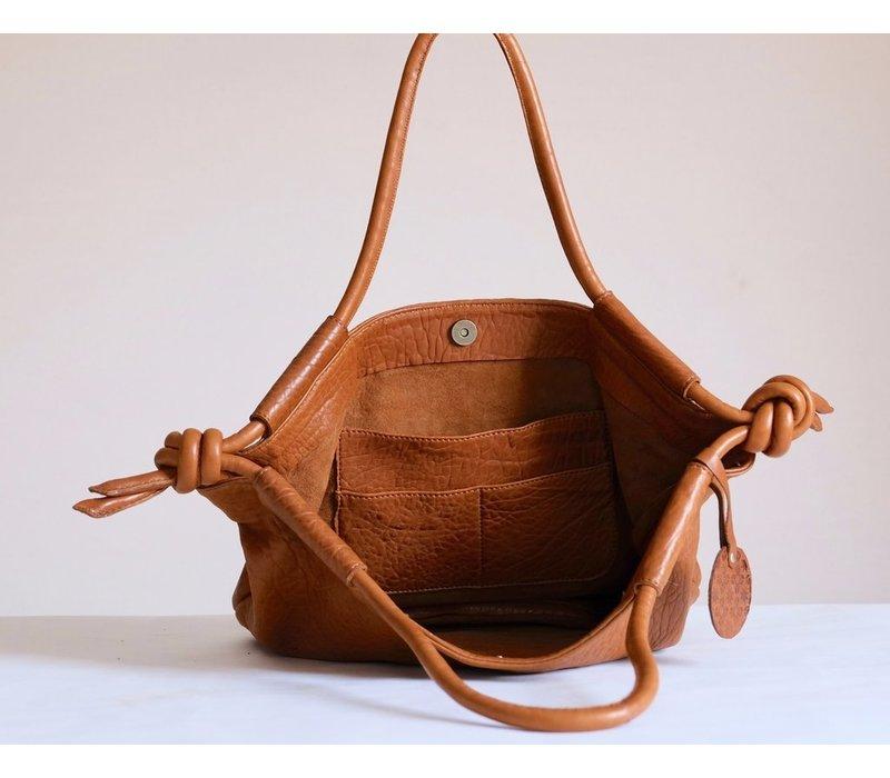 Hayat Tote Bag Cognac