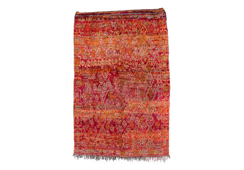 Beni Mguild vintage rug - sunset