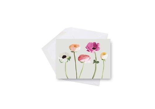 Carte mini fleurs des champs