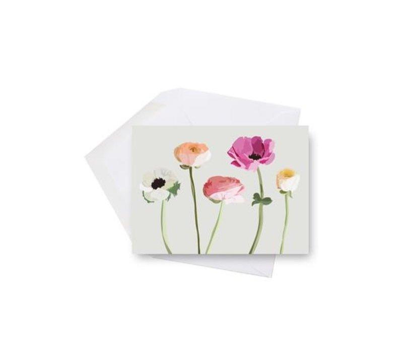 Wildflowers Mini Card