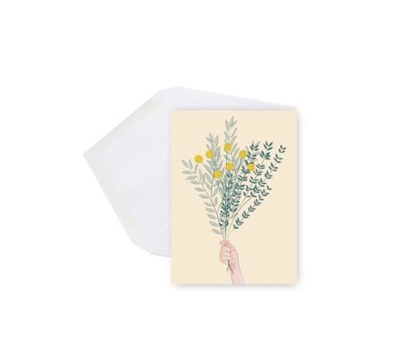 Mini Carte Bouquet