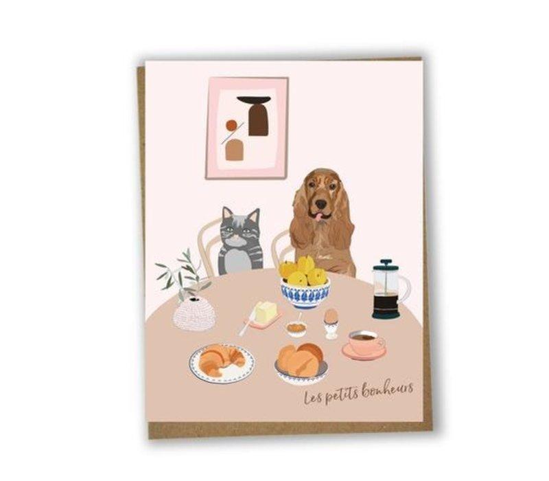 Les petits bonheurs Card