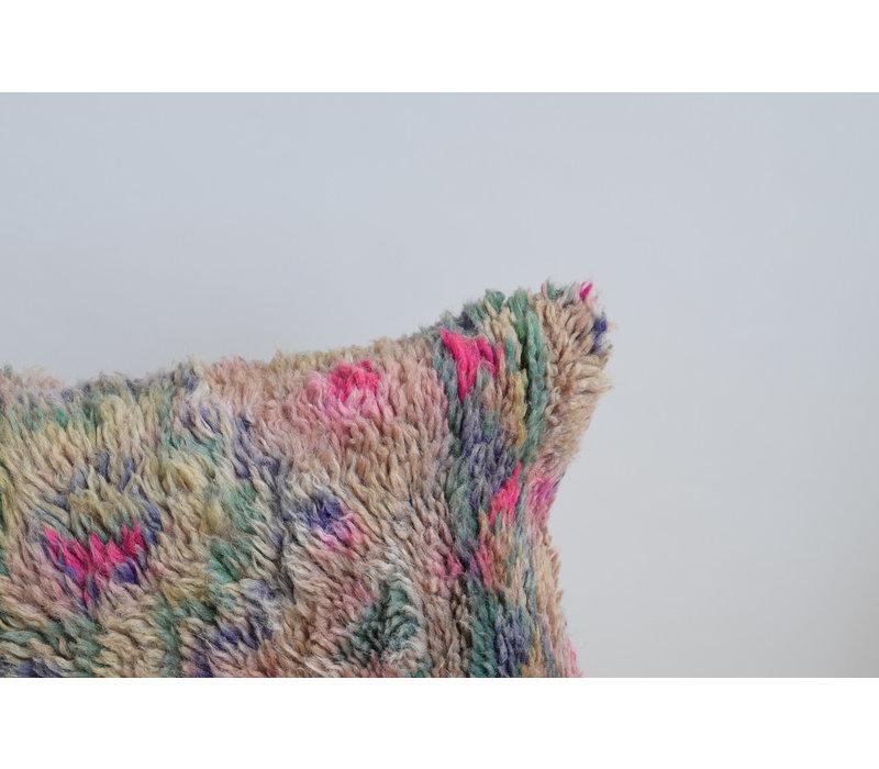 Vintage Rug Pillow mauve 1