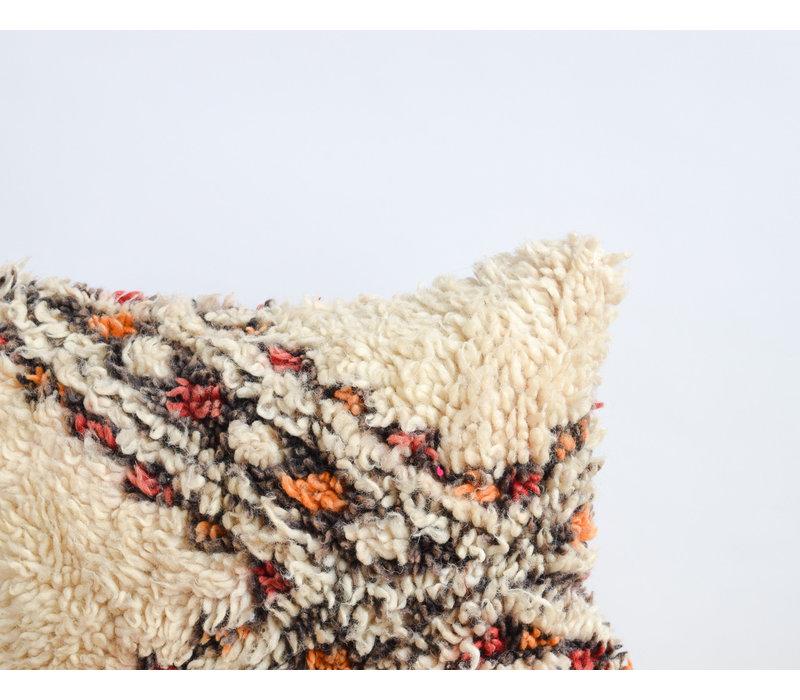Vintage Rug Pillow orange B