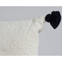 Coussin habba pompom XL