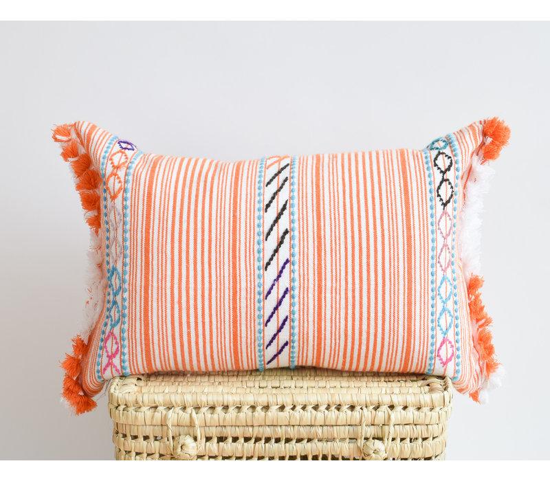 MC Berber Pillow orange