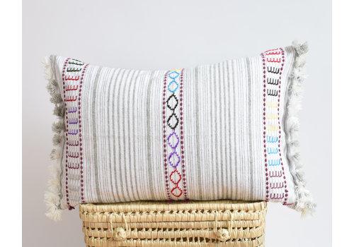 MC Berber Pillow multi grey B