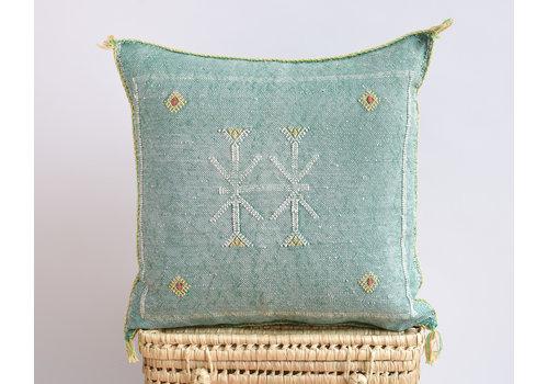 Cactus Silk Pillow GRY