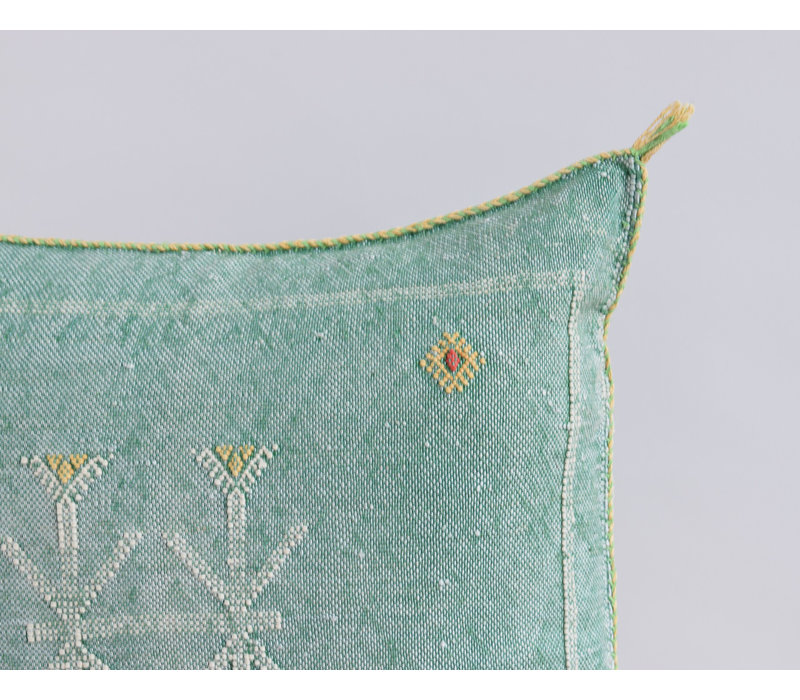 Cactus Silk Pillow GRY