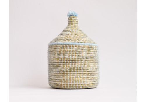 Berber Basket M- baby blue