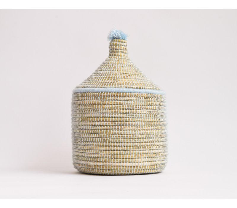 Berber Basket M - baby blue
