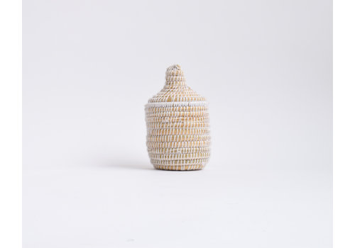 Berber Basket PM - white