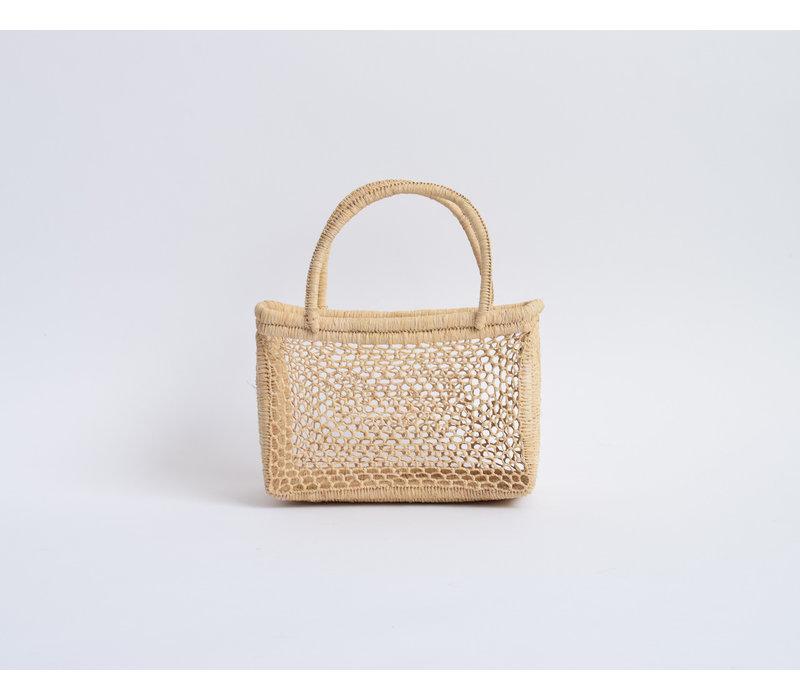 Mini Raffia Basket