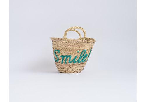 Panier osier Smile