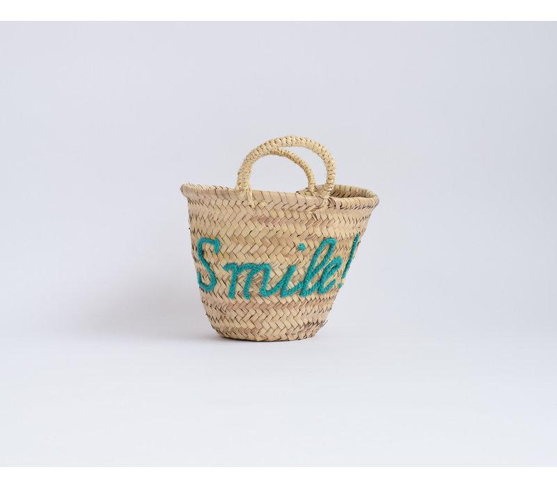 Woven Basket Smile