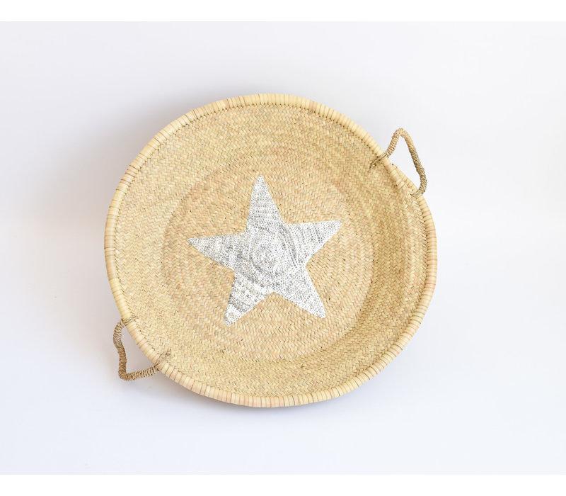 Natural Tray Silver Star
