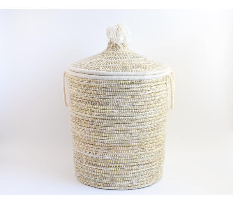 Berber Basket XL White