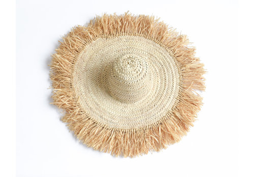 chapeau osier raphia