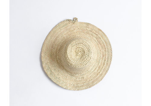 Palm tree leaves hat S