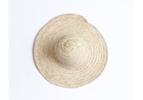 Palm tree leaves hat M