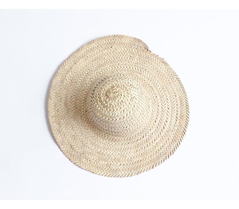 Palm tree leaves hat M