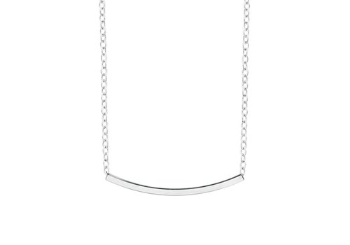 Amber Necklace silver