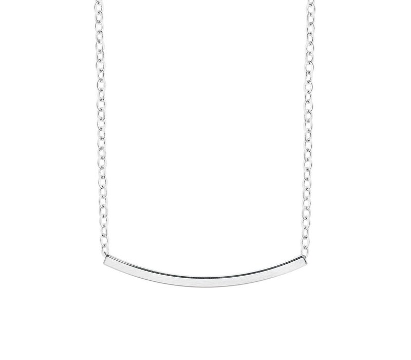 Collier Amber argent