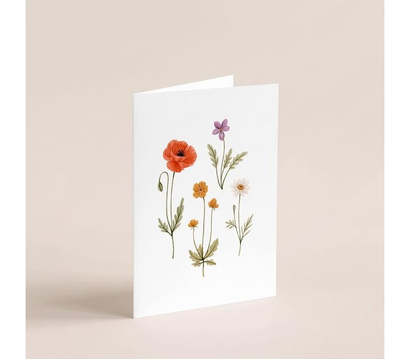 Little Wild Flowers Card