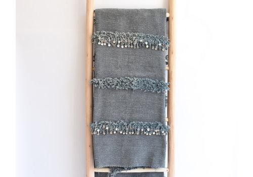 Handira Blanket grey