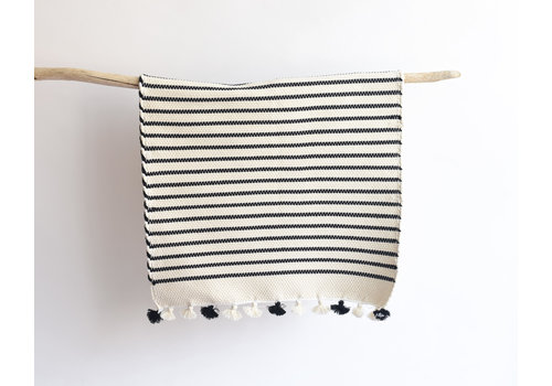 Cotton Bathmat- black