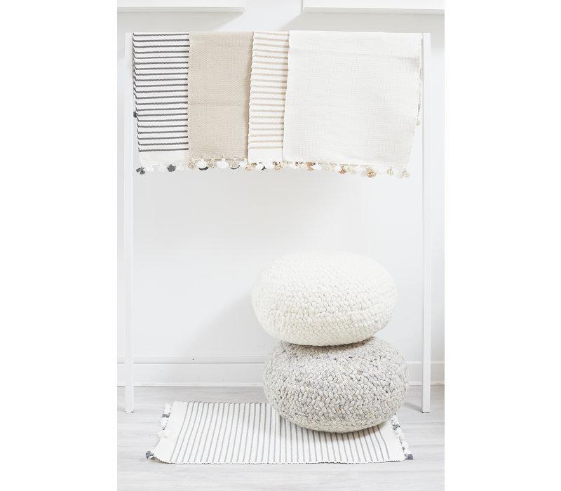 Cotton Bathmat- black