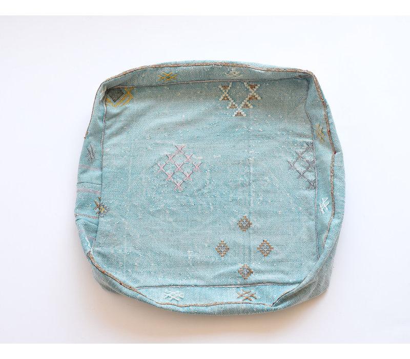 Pouf Sabra - Turquoise
