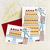 Unfolding Card - Big cake
