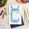Unfolding Card - Bunny