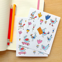 Birds Stickers