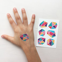Temporary Tattos - gems