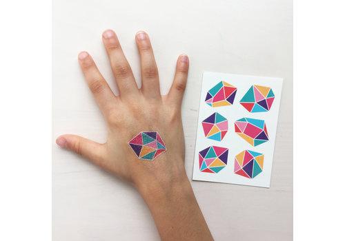Temporary Tattoos - gems