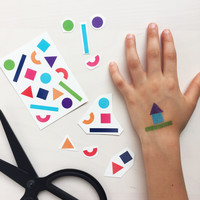Temporary Tattos - shapes