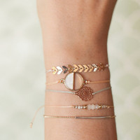 Bracelet LEAF naturel