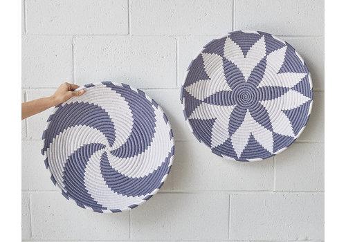 Sahara Plate - grey/white