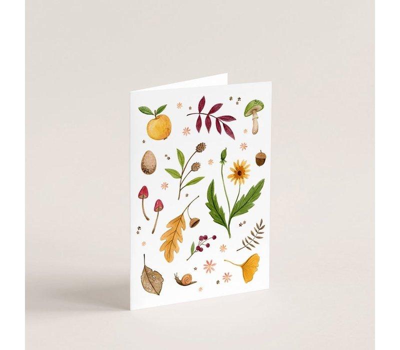 Automn Magic Card