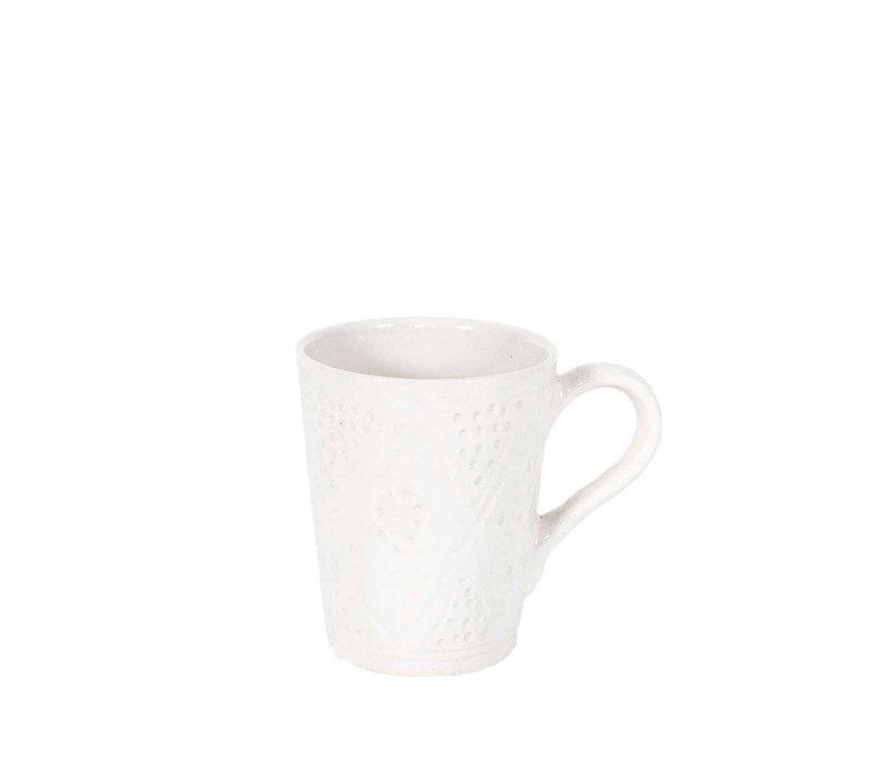 Tasse céramique empreinte