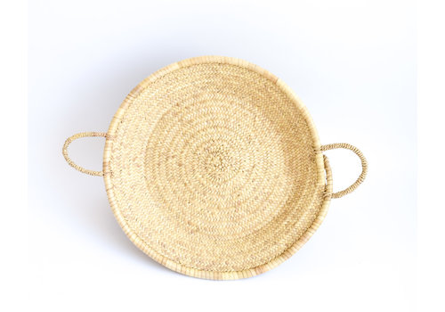 home brand Natural wicker tray