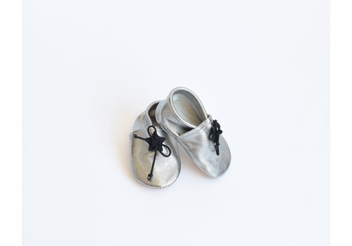 home brand Mocassin argent / 1 an