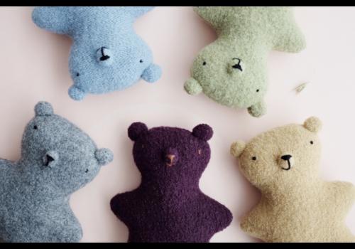 Wool teddy bear